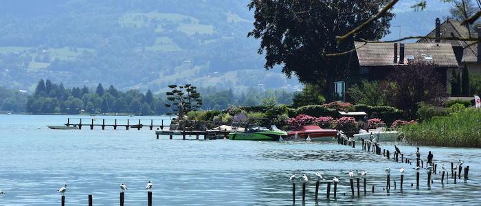 Annecy, le lac et la montagne