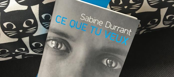 Sabine Durrant: Ce que tu veux.
