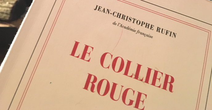 Jean Christophe Ruffin Le collier rouge